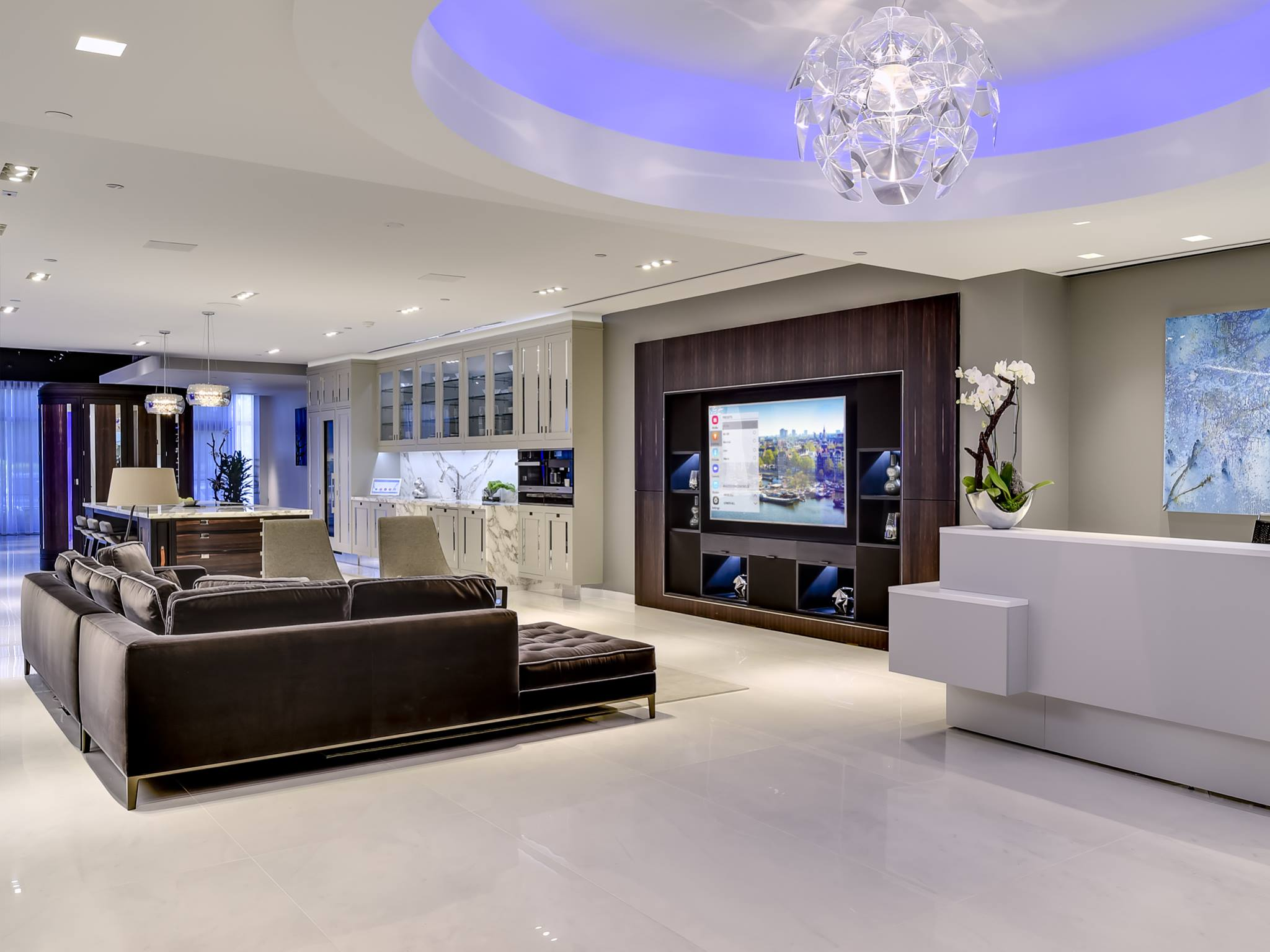 The latest home automation systems installed by an attentive team of professionals …